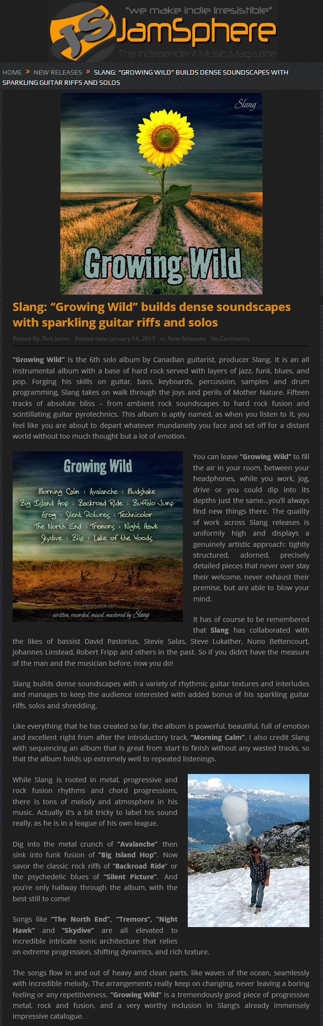 Growing Wild | Slang Productions